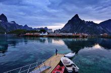 在挪威罗弗顿群岛渔村的悠闲生活