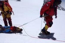 珠峰南坡8000米生死之间