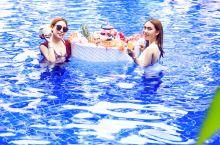 自家小姐姐们的网红漂浮下午茶分享