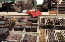 漂亮的巧克力店。