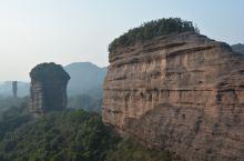 丹霞山核心秘境区......屏峰石