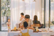 景德镇探店 小众格调日落餐厅,墨绿山丘