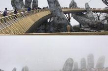 雾中游大佛手桥,这种腾云驾雾的感觉真爽