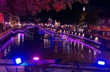 马六甲河畔的夜景