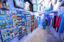 非洲山谷之中的蓝白小镇,唯美浪漫,很多中国游客不远万里也要来  每想你一次,天上飘落一粒沙,从此形成