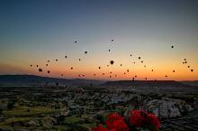 梦中的热气球……