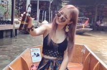 泰国旅行!水上市场vlog