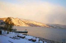 洞爷湖的日出