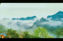 仙境山云雾缭绕