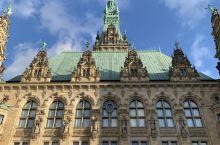 我在汉堡市政厅