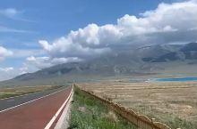 美丽的新疆赛里木湖