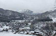 白川乡的雪景