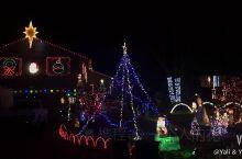 民间屋室外圣诞灯光秀(圣诞系列4)