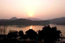 阆中古城的日落