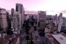圣保罗,巴西最大的城市,高楼建筑群分布很平均