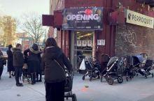 纽约极端正统派,犹太教社区,婴儿车满大街,每家7、8个孩子