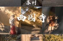 苏州西园寺|苏州最具特色的寺庙
