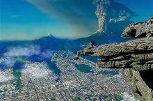 在大自然面前,人类是渺小的,火山喷发造成的蘑菇云,属实让人震撼不已,等待千年,只为此时绽放!