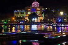 珠海海泉湾维景国际大酒店晚上夜景,非常漂亮。海泉湾的温泉是海水温泉,去泡一泡,对人体有诸多好处。