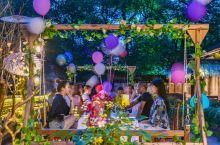 开在最美乡村的天台花园餐厅