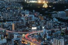 名古屋城灯火通明