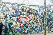 涂鸦。 里约热内卢·里约热内卢州