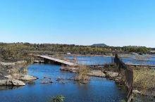 五大连池老黑山下的白龙湖