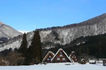 合掌村的冬日!
