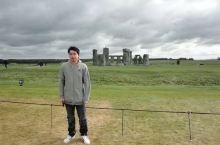 英国巨石阵 史前巨石阵 日月精华。山青水秀