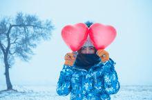 呼伦贝尔大雪原撒欢儿的野玩法之河面破冰