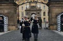 捷克总统府 换岗仪式