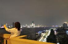 武汉探店‖长江大桥‖夜晚散步的壮美夜景