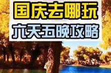 国庆攻略胡杨林