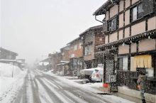 飞雪中的荻町公园~ 白川乡