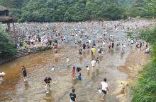 鸳鸯溪白水洋,天然玩水场地