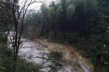 武功山瀑布