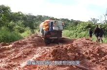 在非洲刚果臭名昭著的公路,650公里路程,卡车要走30天