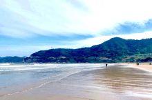 大京沙滩,霞浦主要是滩涂,日出,海水的质量并不高,看上去灰蒙蒙的