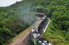 绥芬河俄方货物列车