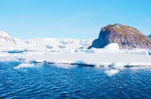 南极的冰盖,冰川,有时平坦得像机场一样
