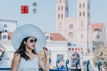 青岛|城市必打卡,圣弥厄尔大教堂最佳机位