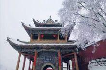 五台山-雪后的佛国圣景