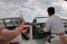 青春湖有快艇玩,也不便宜的,才坐五分钟,但很快,很刺激,没预期,心跳很快呢,不稳定所以拍照很少,也来