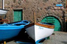 意大利的小渔村