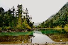 五彩斑斓  白雪世界一一月亮湖