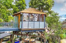 成都版桃花岛在树屋吃火锅,看变脸绝了
