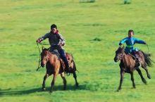 草原骑马~还珠格格同款