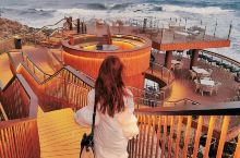 惠州小巴厘岛海边礁石酒吧 假装在国外