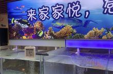 家家悦海鲜餐厅,很多品种的海鲜,还可以现场烹饪