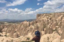 土耳其格雷梅国家地质公园壮美的地貌景色。